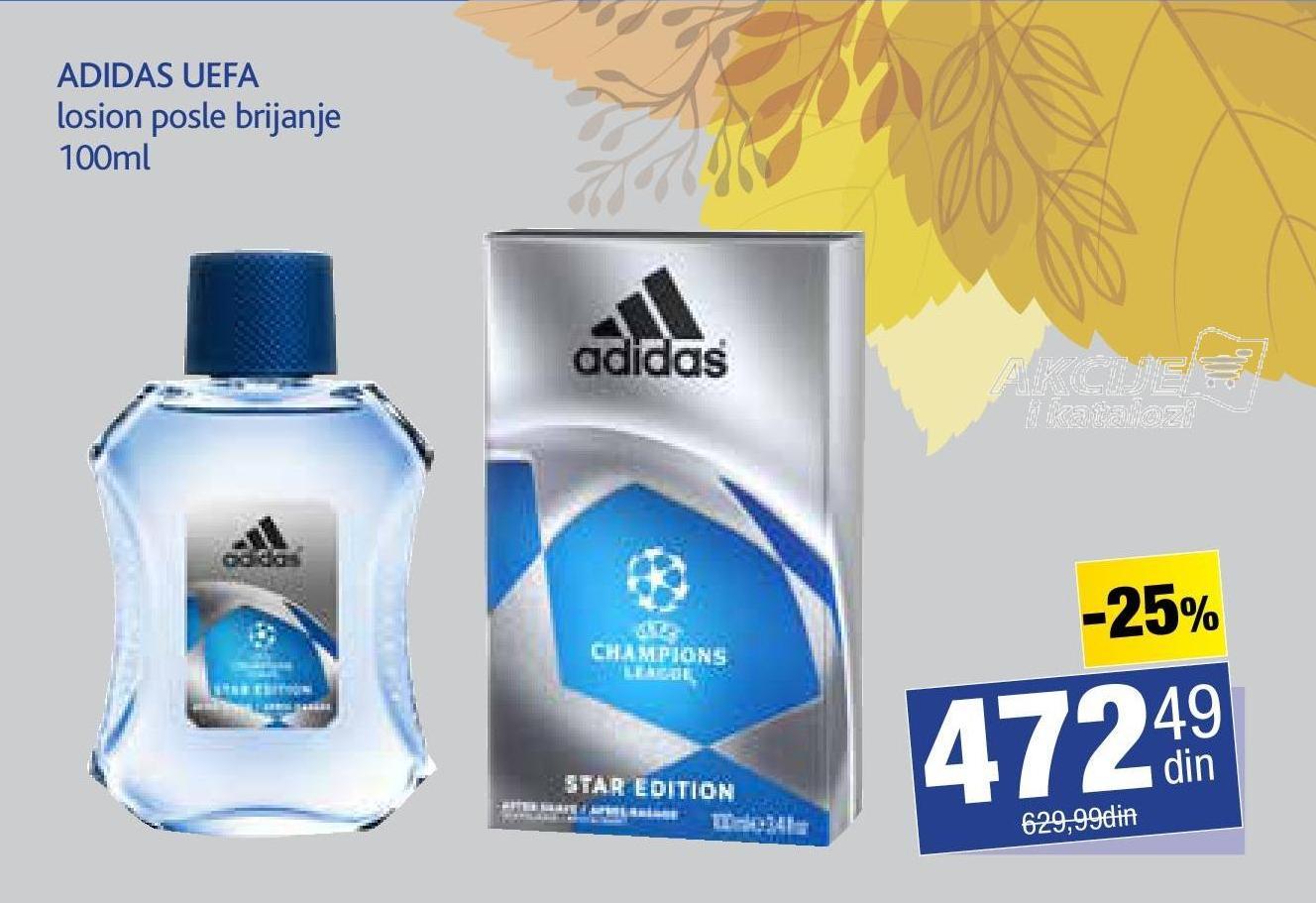 Losion posle brijanja UEFA