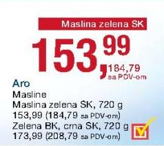 Maslina crna s/k