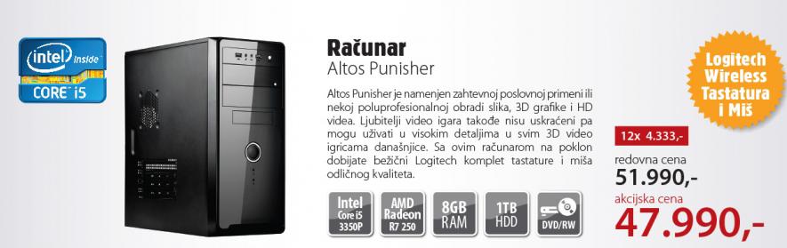 Desktop računar Altos Punisher