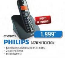 Bezicni telefon D1501B/53