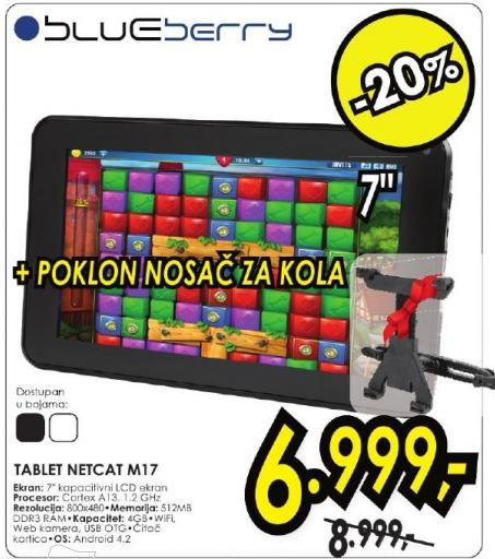 Tablet Net Cat M17 Poklon Nosač za kola