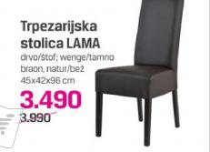 Trpezarijski stolica LAMA