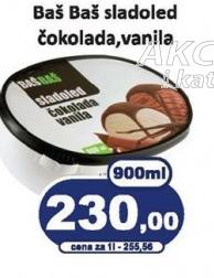 Sladoled čokolada i vanila
