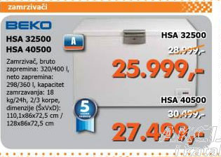 Zamrzivač HSA 32500
