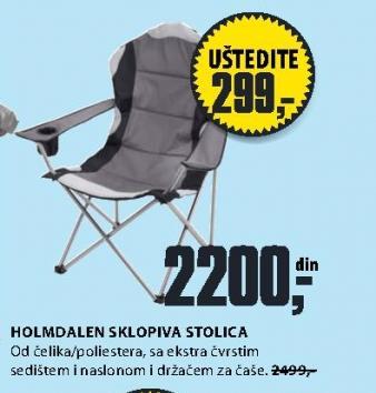 Sklopiva stolica Holmdalen