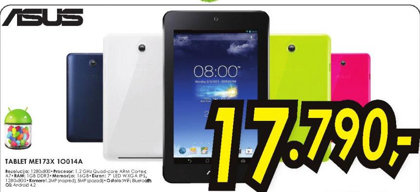 Tablet tablet MeMO Pad ME173X-1O014A