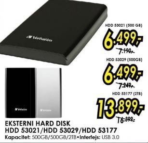 Eksterni hard disk Hdd 53177