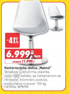 Konferencijska stolica Malmo