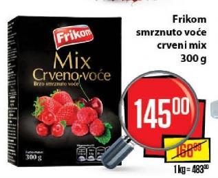 Smrznuto crveno voće mix