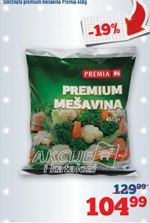 Smrznuto povrće premium mešavina