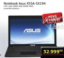 Notebook X55A-SX194