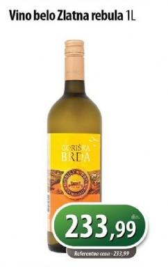 Belo vino Zlatna Rebula