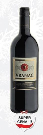 Crno vino Vranac super cena