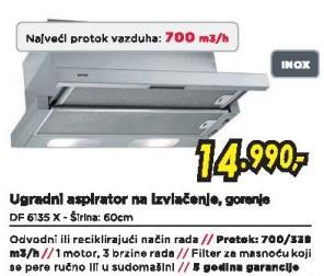 Aspirator DF6135X