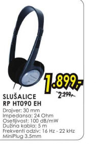 Slušalice RP-HT090E-H