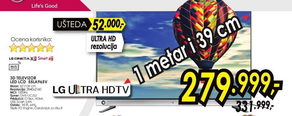 Televizor LED LCD 55LA965V