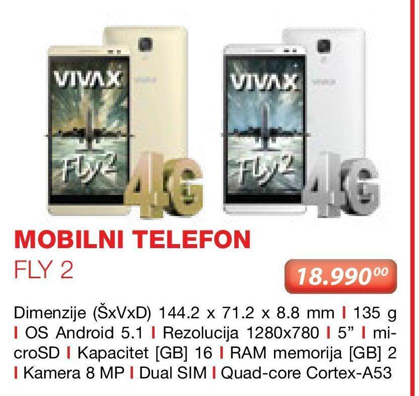 Mobilni telefon FLY2