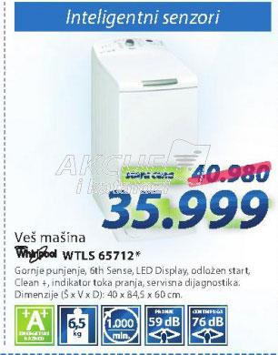 Veš mašina WTLS65712