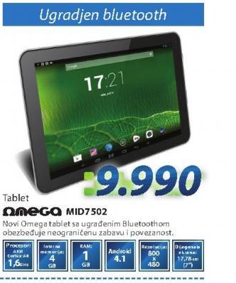 Tablet PC MID7502