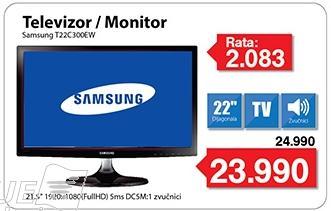 """Monitor LED 21.5"""" T22c300ew"""