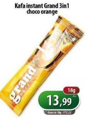 Kafa instant 3u1 choco orange