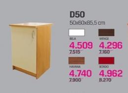Kuhinjski element Martina D50