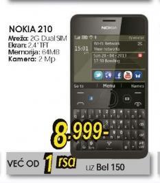 Mobilni Telefon Asha 210 Dual Sim