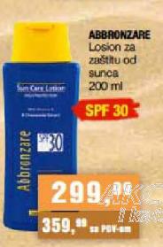 Losion za zaštitu od sunca SPF30