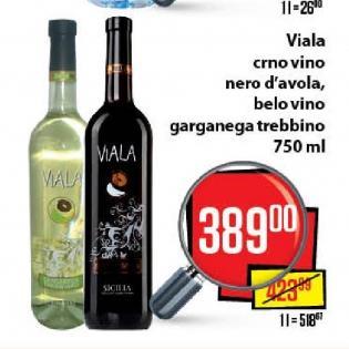 Crno vino Viala