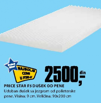 Dušek Price star 90x200 cm