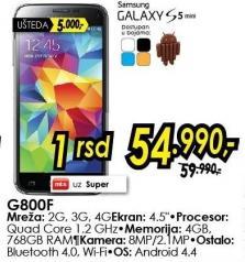 Mobilni telefon Galaxy S5 Mini G800f