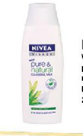 Visage pure&natural mleko za čišćenje lica