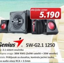 Zvučnici SW-G2.1 1250