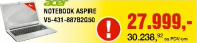 Notebook Aspire V5-431-887B2G50