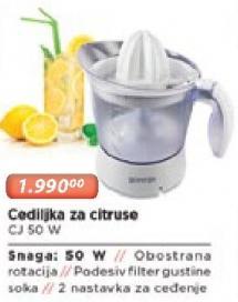 Cediljka Za Citruse Jc 50 W
