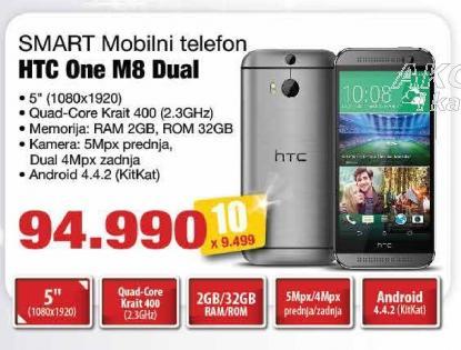 Mobilni telefon One M8 Dual