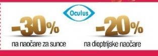 Popusti u radnji Oculus
