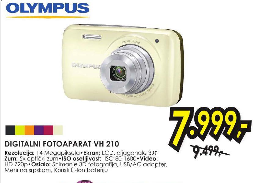 Digitalni fotoaparat VH 210