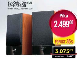 Zvučnici SP-HP360B