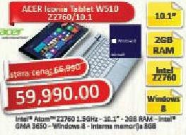 Tablet Iconia W510 Z2760/10.1