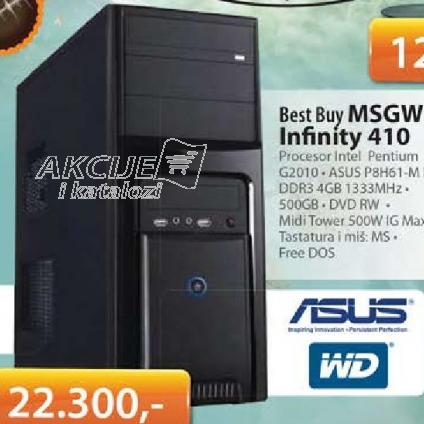 Računar PC MSGW Infinity 410