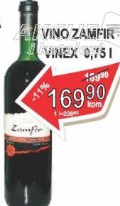 Crno vino Zamfir