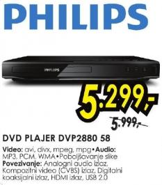 DVD plejer Dvp2880 58
