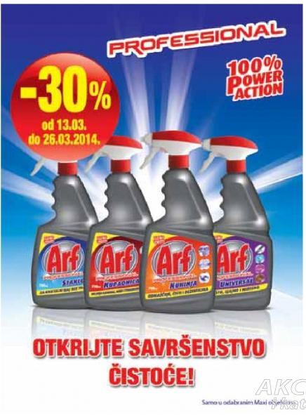 Arf proizvodi za čišćenje