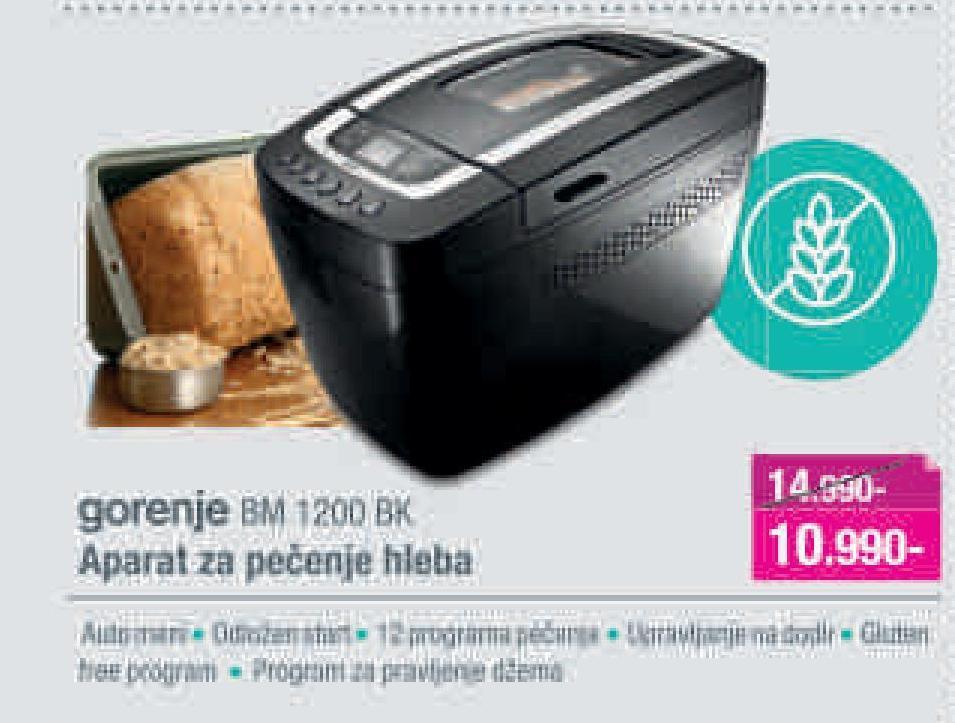 Pekara BM 1200 BK