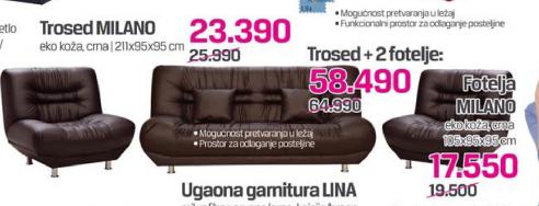 Fotelja Milano