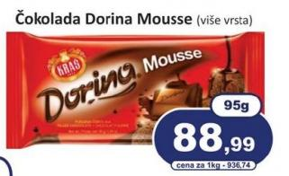 Čokolada mousse