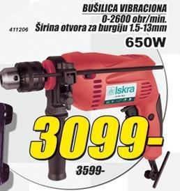 Bušilica vibraciona 650W
