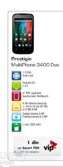 Mobilni telefon  3400 MultiPhone