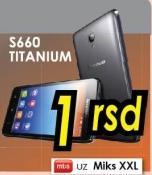 Mobilni telefon S660 Titanium